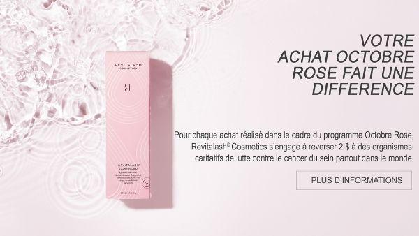 RevitaLash® Cosmetics maintient son engagement pour Octobre Rose